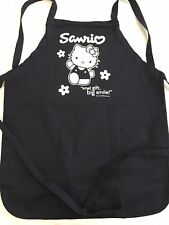Rare Vintage SANRIO Hello Kitty Apron Store Employee One Size New In Package