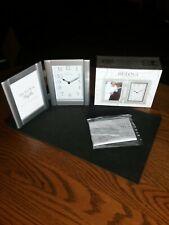 "Bulova Picture Frame Clock B1275 (6"" x 9"" x 1.25"") Great Gift"