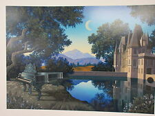 """JUM BUCKELS - """" NOCTURNE """"   SERIGRAPH  HAND SIGNED AND NUMBERED    SOLD OUT"""