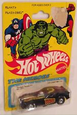 MOC 1979 Hot Wheels The Heroes Human Torch Funny Car with Basic Wheels
