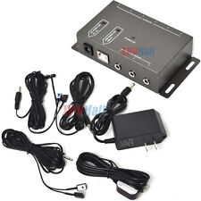 Infrared Remote Extender 6 Emitters 1 Receiver Hidden IR Repeater System Durable