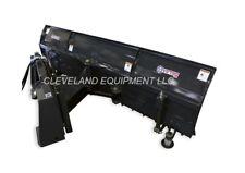 "New 84"" Virnig V50 Snow Plow Blade Attachment Skid Steer Loader / Tractor 7'"