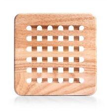 Quadratische Tischuntersetzer aus Holz