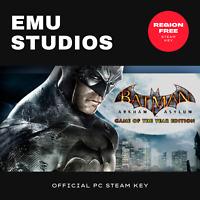 Batman: Arkham Asylum (GOTY) (PC) Steam Key Region Free