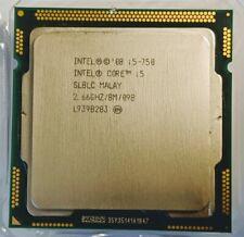 Intel Core i5 750 2.66GHz Quad-Core LGA1156 CPU