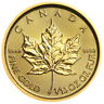 2018 $5 Gold Canadian Maple Leaf .9999 1/10 oz Brilliant Uncirculated