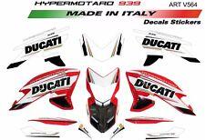Kit adesivi per Ducati Hypermotard 939 design tricolore
