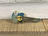 Hard Rock Cafe Myrtle Beach Eye Of Knowledge Doubleneck Guitar Pin 1995