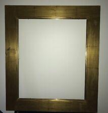 Beau Cadre ancien en bois Doré Feuille Or - Format Standard 10F 55 cm x 46 cm