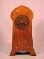 Rare original alte Tischuhr Jugendstil um 1900 Art Nouveau Mantel Clock
