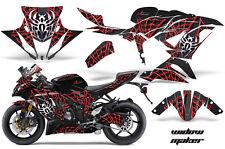 Street Bike Graphics Kit Decal Wrap For Kawasaki Ninja ZX6R 636 13-16 WIDOW R K