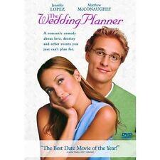 THE WEDDING PLANNER DVD Matthew McConaughey NEW