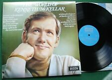 The World of Kenneth McKellar inc Scotland the Brave Skye Boat Song + LP