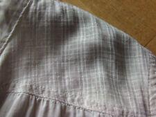 **s. OLIVER** Bluse Tunika Hemd *oil washed* used 40/ 42/ L grau stone taupe