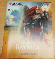 Magic the Gathering MTG Guilds of Ravnica Players Guide