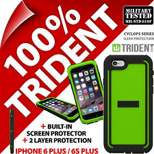 Trident Cyclops Vert étui protection Robuste pour Apple iPhone 6 Plus/6S plus