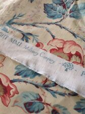 "Beautiful Mulberry ""Wild Briar"" Fabric New"