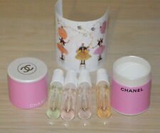Chanel VIP gift set of Chanel Chance samples 4x1.5 ml each NEW in round box
