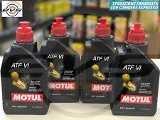 4 Litri MOTUL ATF VI Olio Fluido Trasmissione Cambio Automatico 100% Sintetico
