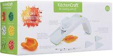 Kitchen Craft Alimentación Saludable 6 EN 1 MANDOLINA CORTADOR DE VERDURA &