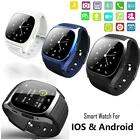 M26 Bluetooth Wrist Smart Watch Phone Mate For IOS Android Phone Portable LQ49