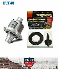 "EATON TRUETRAC LSD & MOTIVE GEAR 3.50 DIFF GEARS PACK FORD 9"" 31 SPLINE 10 BOLT"