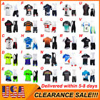 Mens Team Cycling Jerseys Cycling Short Sleeve Jersey And Bib Shorts Set 2021 <br/> Clearance Sale-the last three days-Asian size-100 SOLD