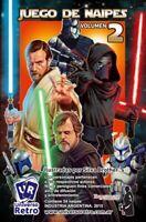 Star Wars 2 Card Game trading Cards Complete Set Yoda Orginal Art