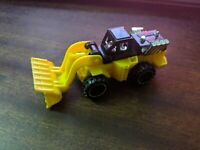 HOT WHEELS WHEEL LOADER 2013 HW CITY WORKS YELLOW Black Bulldozer Construction