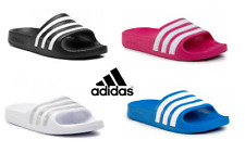 ADIDAS KIDS BOYS GIRLS ADILETTE SLIDERS SLIDES SLIP ON FLIP FLOPS SANDALS BEACH