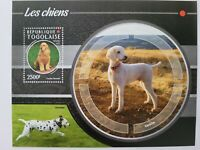 Togo 2015 / domestic animals / dogs  1v mnh minisheet