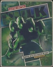 The Hulk : STEELBOOK Edition (Blu-ray/DVD, 2013, 2-Disc Set) BRAND NEW