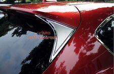 S.steel Rear Spoiler Wing Side Chrome Cover  Molding Trim Mazda CX5 2013-2016