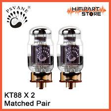 2pcs Psvane HiFi KT88 Matched Pair Replace EH Gold Lion JJ SVETLANA KT88 KT88-98