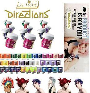 La Riche Directions Semi-Permanent Temporary Vegan Hair Colour Dye Toner WashOut