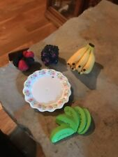 American Girl Doll Fruit And Plate New