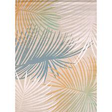 "5x8 (5'3"" x 7'2"") Tropical Coastal Palms Island Floral Area Rug"