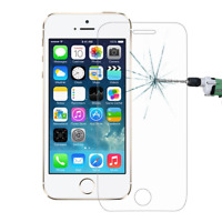 GENUINE TEMPERED GLASS SCREEN PROTECTOR COVER FOR IPHONE SE 5 5S 2 PACK