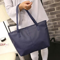 Women PU Leather Tote Shoulder Bag Satchel Ladies Travel Shopper Hobo Handbag