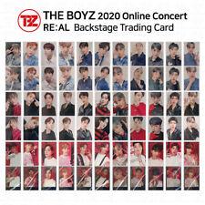 THE BOYZ 2020 Online Concert RE:AL Backstage Trading Card Photocard K-POP KPOP
