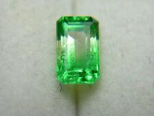 RARE Tsavorite Leuco Bi-Color Colorless Green Garnet gem Grossular FLUORESCENT l