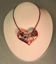 Holey Heart Choker Mold - Glass Fusing #Lf84