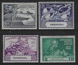 Bermuda SG 130 - 133 Universal Postal Union Set MINT Cat £2.75