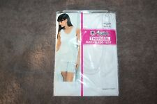Passionelle White Sleeveless Thermal Vest Size WMS 34-36 Inch Chest BNIP