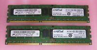 Micron MT18JSF51272PDZ-1G1D1BB CT51272BB1067 8GB 2x4GB PC38500 DDR3 ECC CL7 240P