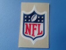 NFL shield football helmet decal