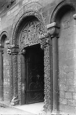 More details for ely cathedral priors door antique photographic glass negative (cambs 1910s)