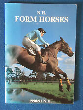 National Hunt Form Horses 1990/91 - Published by Aesculus Press