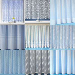 Caravan & Boat White Window Lace Net Curtains - Various Designs and Sizes