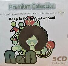 Legends of SOUL R&B 5 CD BOX, 60 Tracks,Marvin Gaye,Aretha Franklin,Temptations